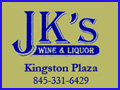 JK's Wine & Liquor at the Kingston Plaza in Kingston, NY