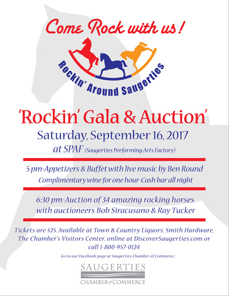 Septemer 16, 2017 - Saugerties Rockin' Gala & Auction